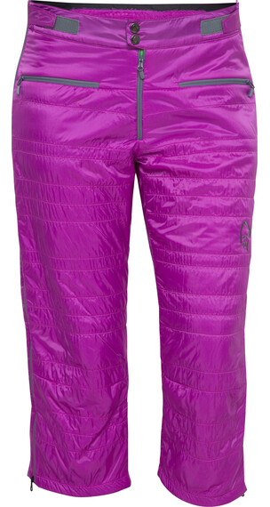 Norrøna W's lyngen alpha100 ¾ Pants Pumped Purple